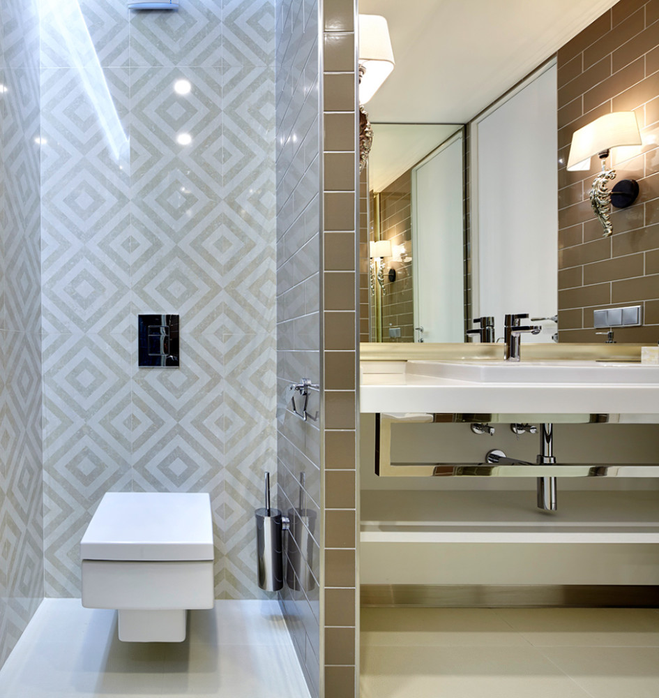 Bathroom design considerations erica fanning interior for Feature wall tile ideas